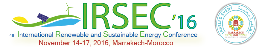 4th International Renewable and Sustainable Energy Conference (IRSEC'16)
